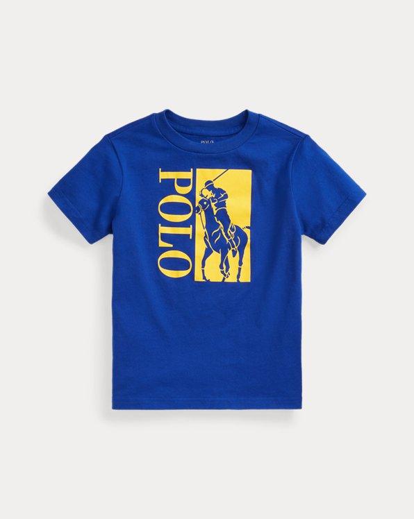 Camiseta de punto jersey con Big Pony