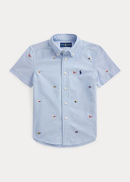 Polo Ralph Lauren Nautical Flag Cotton Oxford Shirt