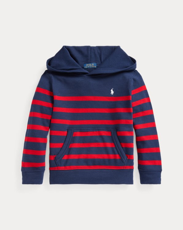 Striped Spa Terry Hoodie