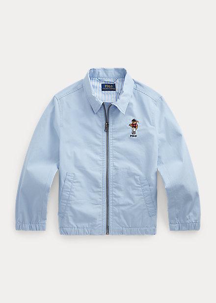 Polo Ralph Lauren Bayport Polo Bear Cotton Jacket