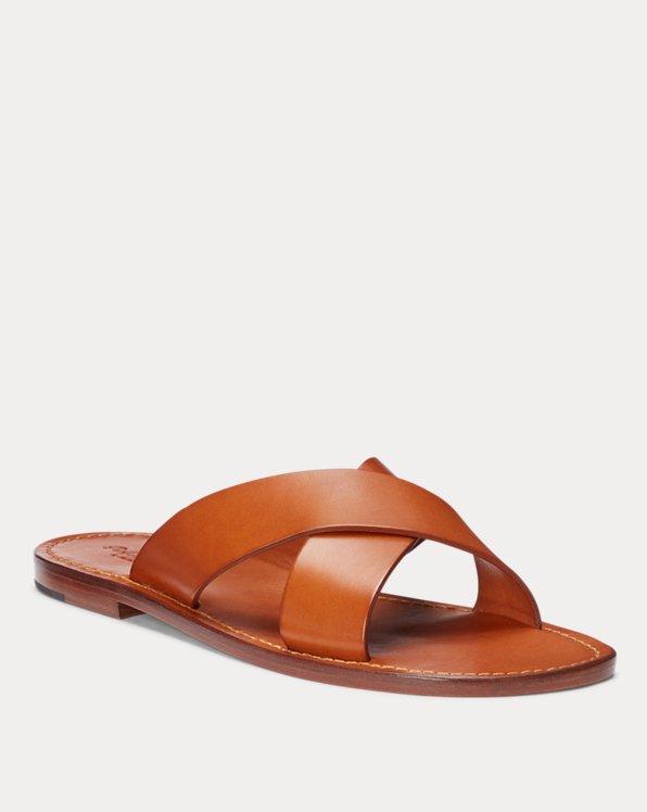 Flex Leather Slide Sandal