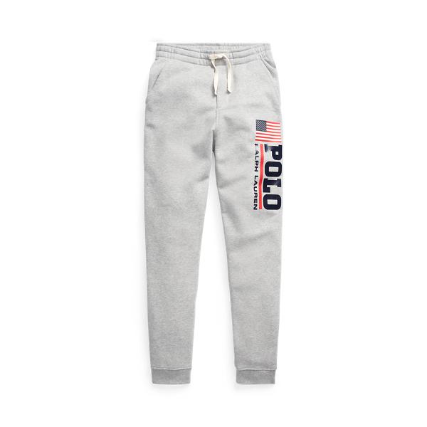폴로 랄프로렌 보이즈 조거 팬츠 Polo Ralph Lauren Logo Fleece Jogger Pant,Andover Heather