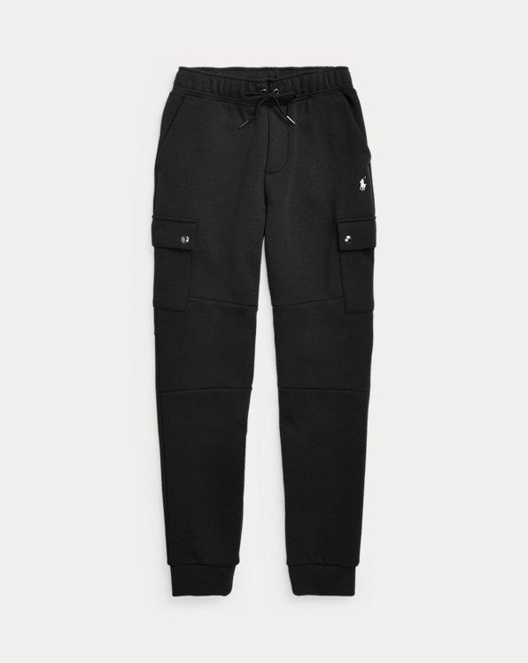 폴로 랄프로렌 보이즈 조거 팬츠 Polo Ralph Lauren Double-Knit Cargo Jogger Pant,Polo Black