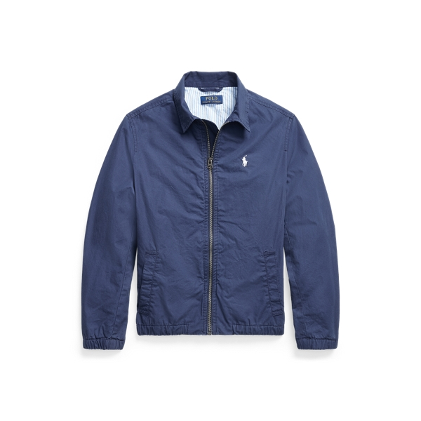 폴로 랄프로렌 보이즈 베이포트 치노 자켓 Polo Ralph Lauren Bayport Stretch Cotton Chino Jacket, Newport Navy