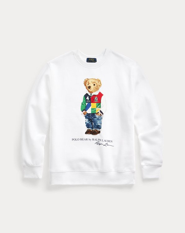 Polo Bear Fleece Sweatshirt