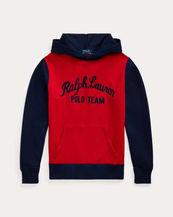 Kapuzenpullover Polo Team aus Fleece