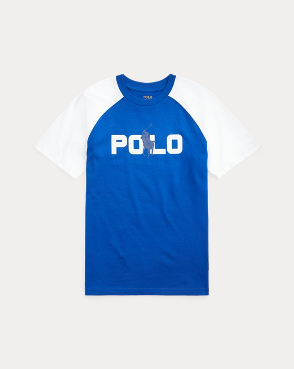 Print-Changing Cotton Jersey Tee