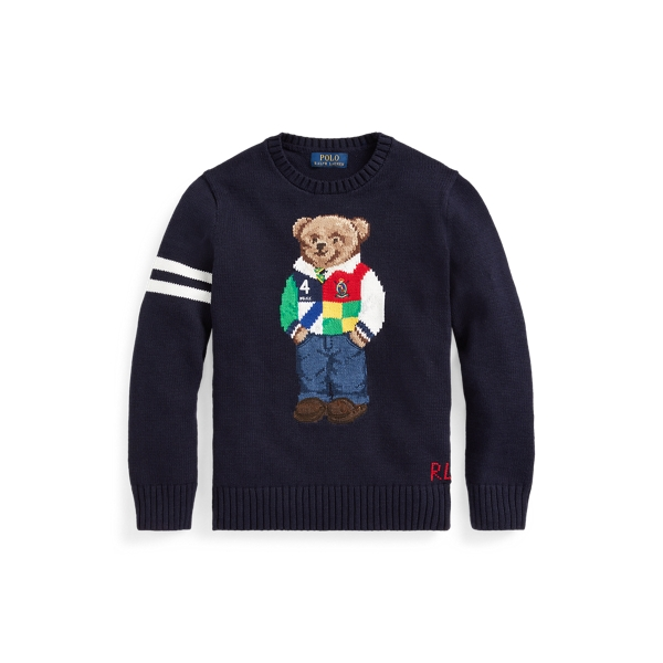 Polo Ralph Lauren POLO BEAR COTTON SWEATER