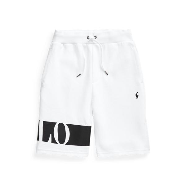 폴로 랄프로렌 보이즈 반바지 Polo Ralph Lauren Logo Double Knit Short,White