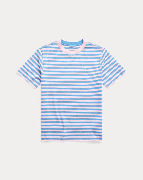 Striped Cotton-Blend Jersey Tee