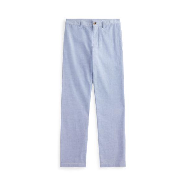 폴로 랄프로렌 보이즈 팬츠 Polo Ralph Lauren Skinny Fit Stretch Oxford Pant,Bsr Blue