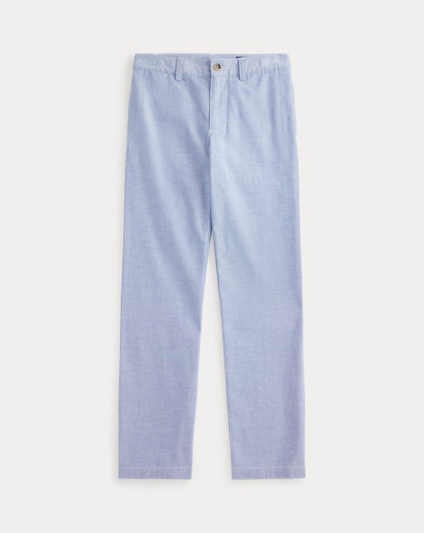 Skinny Fit Stretch Oxford Pant
