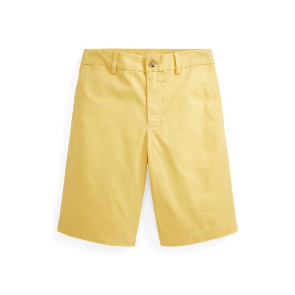 폴로 랄프로렌 보이즈 반바지 Polo Ralph Lauren Straight Fit Stretch Twill Short,Empire Yellow