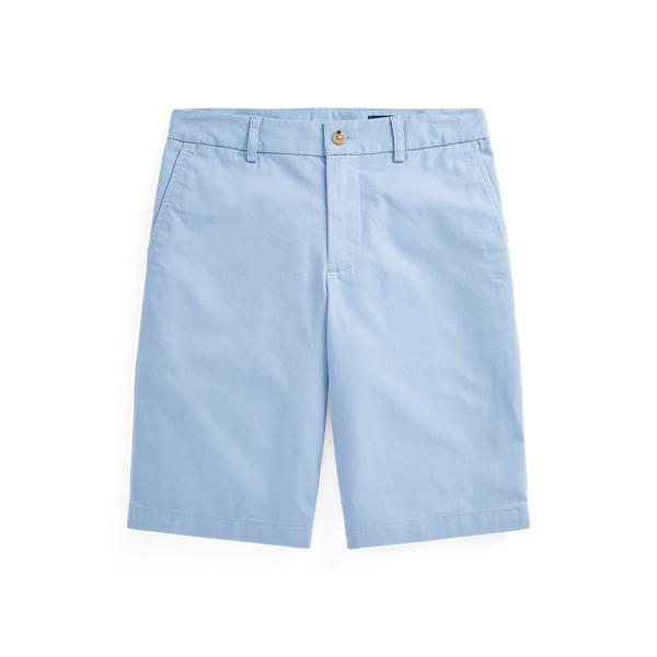 폴로 랄프로렌 보이즈 반바지 Polo Ralph Lauren Straight Fit Stretch Twill Short,Chambray Blue