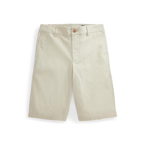 폴로 랄프로렌 보이즈 반바지 Polo Ralph Lauren Straight Fit Stretch Twill Short,Basic Sand