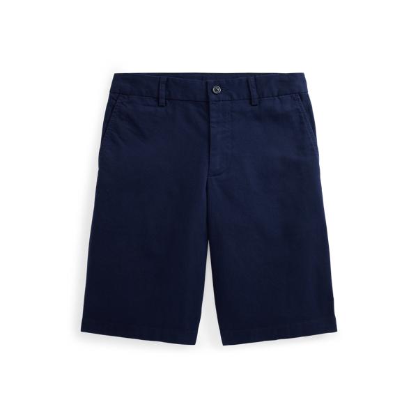 폴로 랄프로렌 보이즈 반바지 Polo Ralph Lauren Straight Fit Stretch Twill Short,Newport Navy