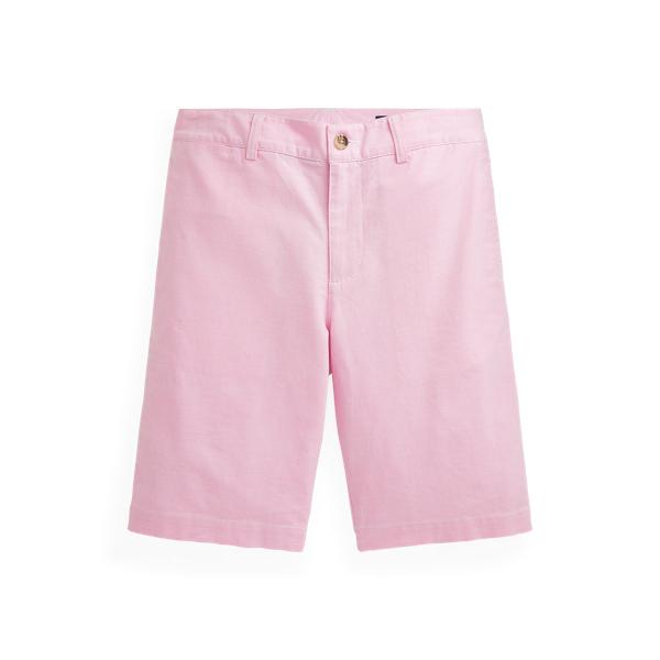 폴로 랄프로렌 보이즈 반바지 Polo Ralph Lauren Slim Fit Stretch Cotton Oxford Short,New Rose