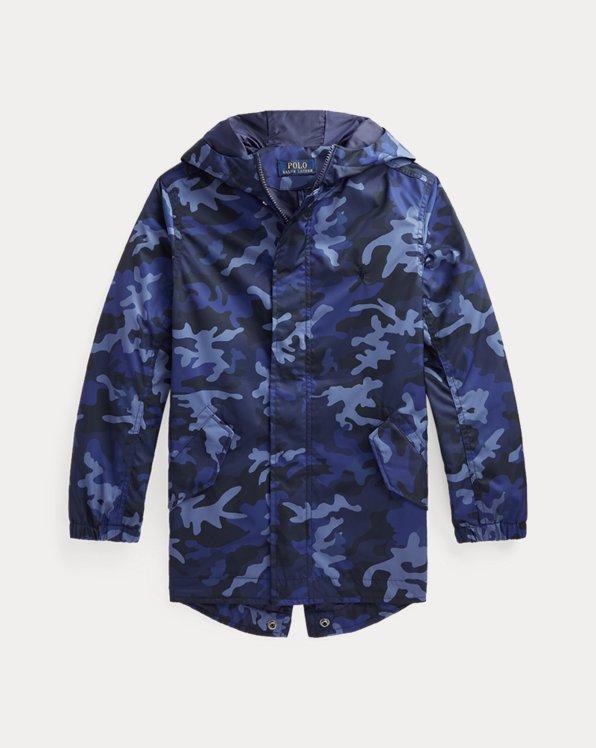 Camo Water-Resistant Marsh Coat