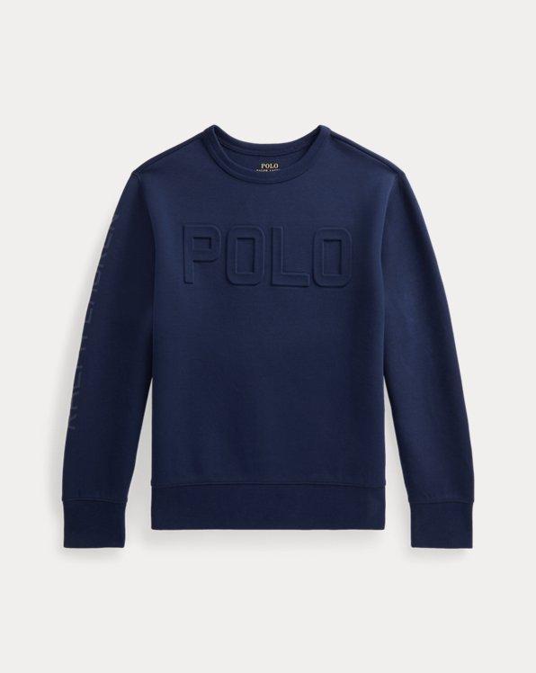 Logo Double-Knit Sweatshirt
