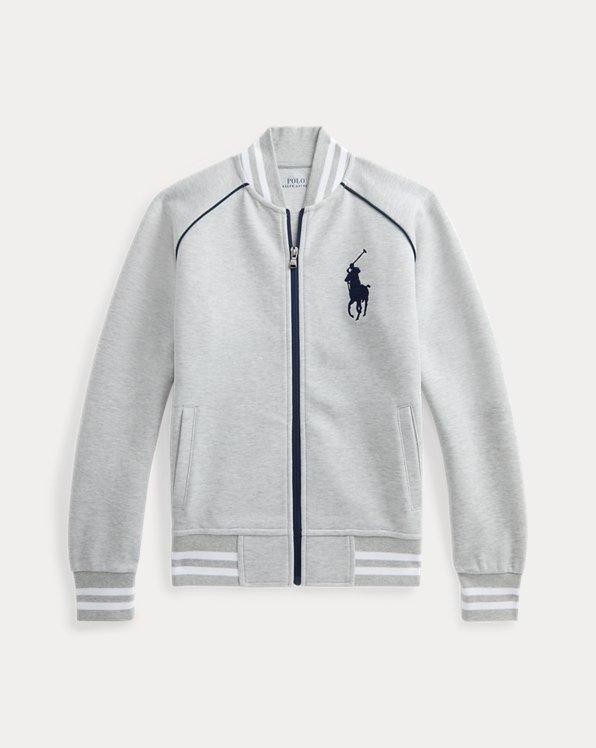 Big Pony Double-Knit Baseball Jacket