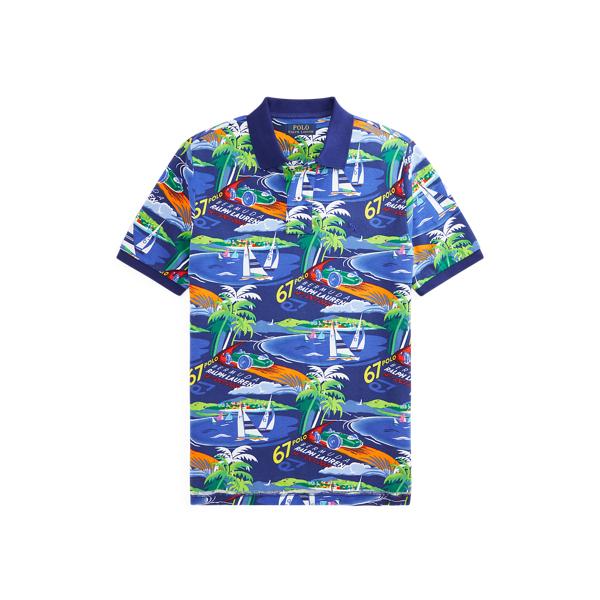 폴로 랄프로렌 보이즈 폴로셔츠 Polo Ralph Lauren Race Car Cotton Mesh Polo Shirt,Multi