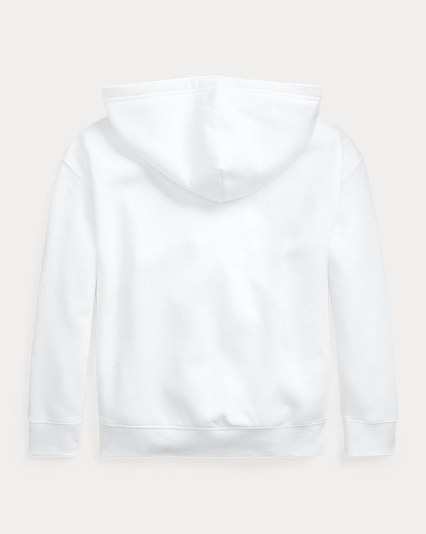 Logo Cotton-Blend-Fleece Hoodie