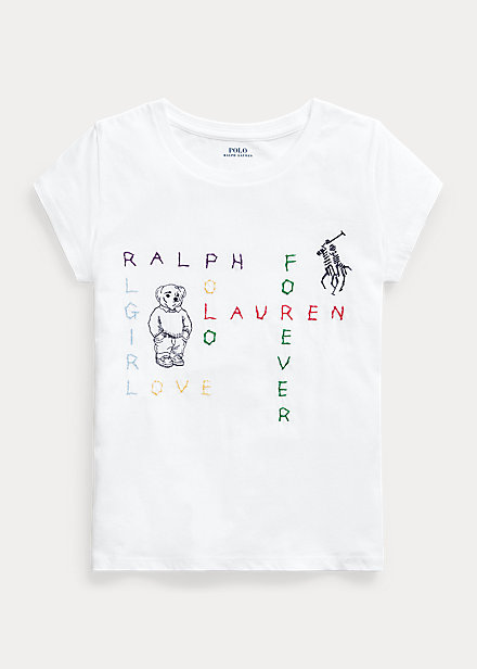 Polo RalphLauren Cotton Jersey Graphic Tee