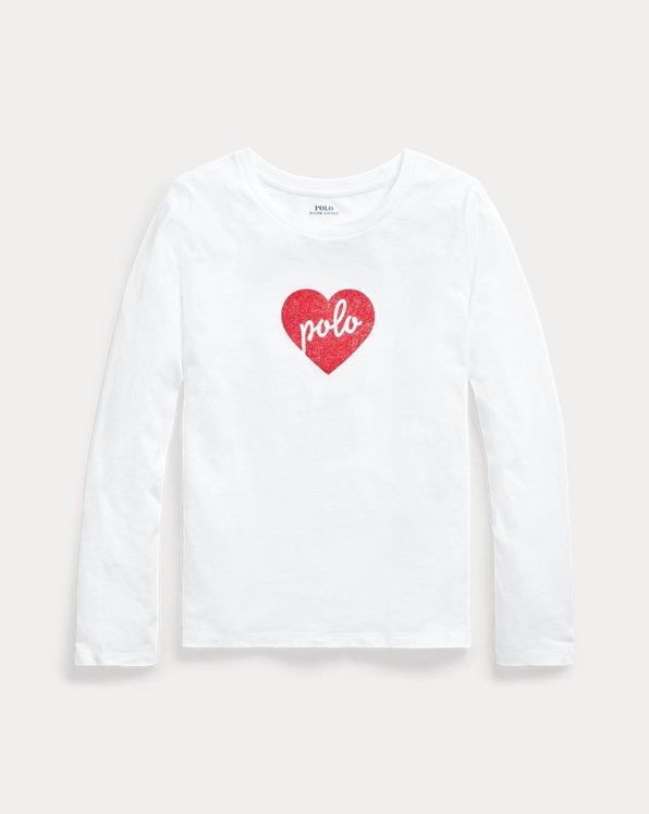 Polo Heart Cotton Jersey Tee