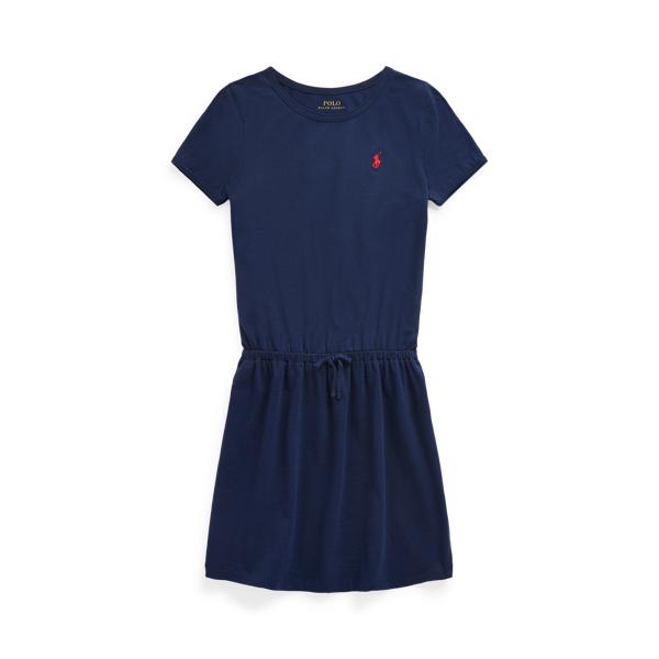 폴로 랄프로렌 Polo Ralph Lauren Cotton Jersey Tee Dress,Newport Navy