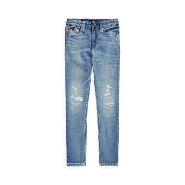폴로 랄프로렌 걸즈 청바지 Polo Ralph Lauren Tompkins Skinny Fit Jean,Etna Wash