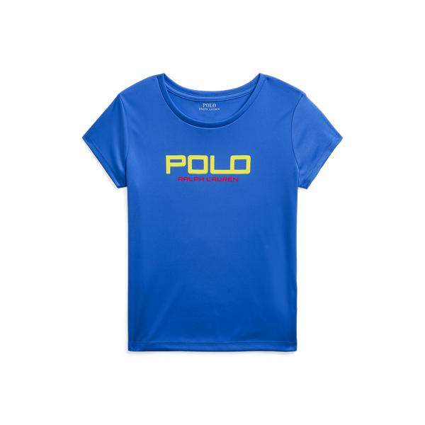 폴로 랄프로렌 Polo Ralph Lauren Interlock Graphic Tee,Metro Blue