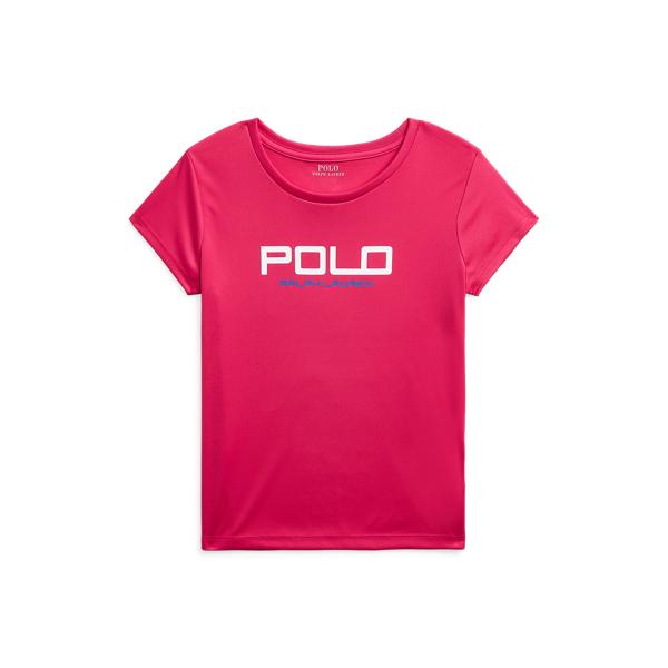 폴로 랄프로렌 Polo Ralph Lauren Interlock Graphic Tee,Sport Pink