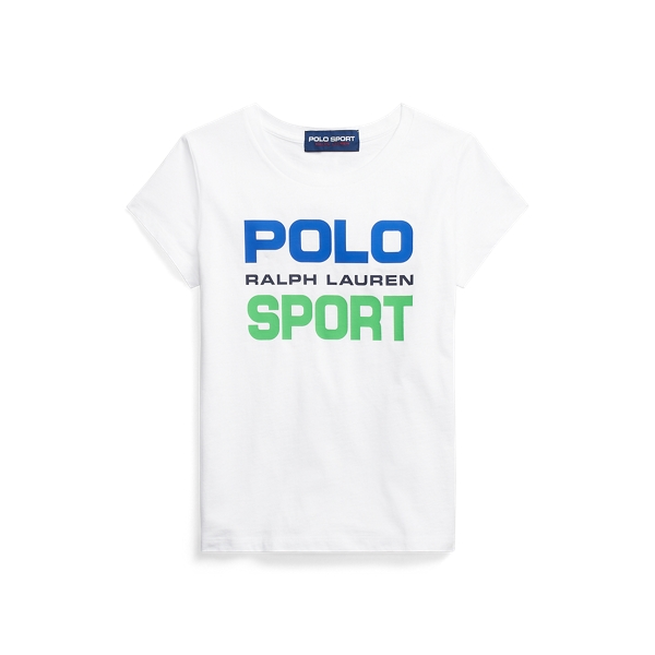 폴로 랄프로렌 Polo Ralph Lauren Polo Sport Cotton Jersey Tee,White