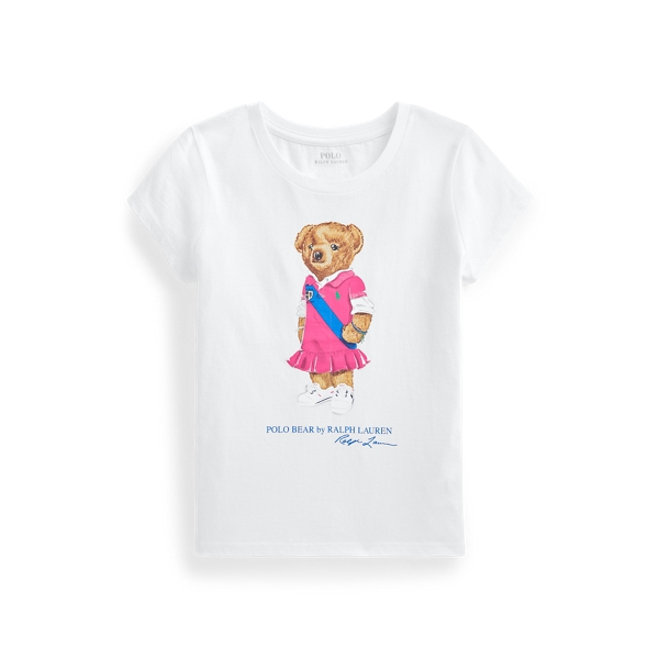 폴로 랄프로렌 Polo Ralph Lauren Polo Bear Cotton Jersey Tee,White