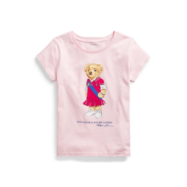 폴로 랄프로렌 Polo Ralph Lauren Polo Bear Cotton Jersey Tee,Hint Of Pink