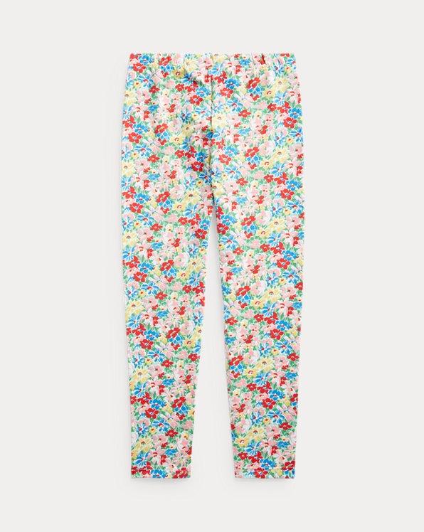 Floral Stretch Jersey Legging