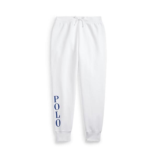 폴로 랄프로렌 Polo Ralph Lauren Logo Double Knit Jogger,White