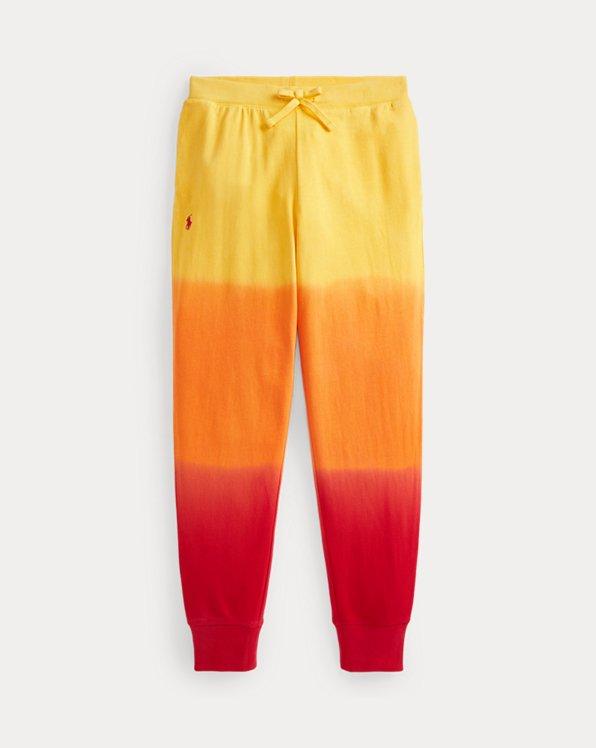 Tie-Dye Cotton Terry Jogger