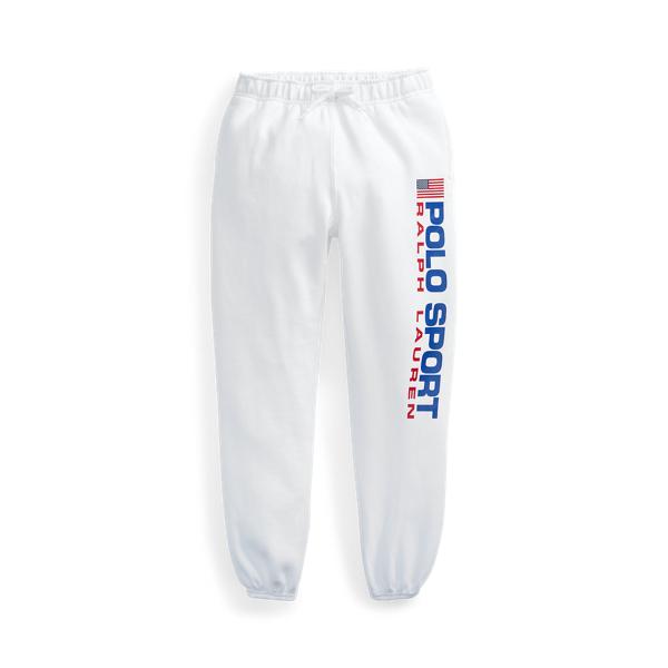 폴로 랄프로렌 Polo Ralph Lauren Polo Sport Fleece Jogger,White