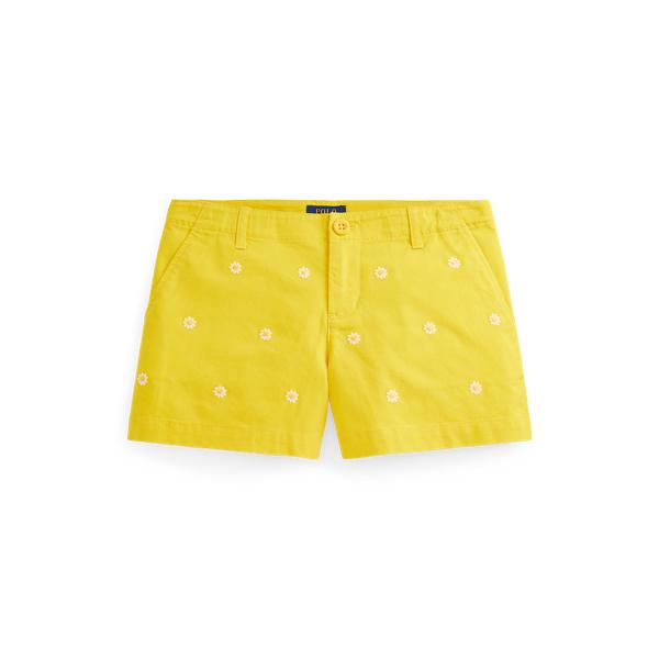 폴로 랄프로렌 Polo Ralph Lauren Floral Stretch Chino Short,University Yellow
