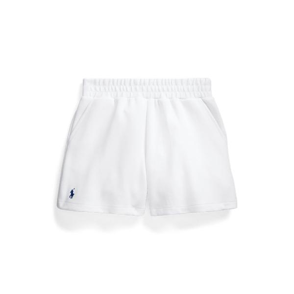 폴로 랄프로렌 Polo Ralph Lauren Double Knit Pull On Short,White