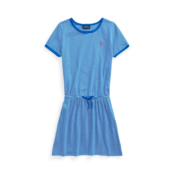 Polo Ralph Lauren STRIPED COTTON JERSEY TEE DRESS