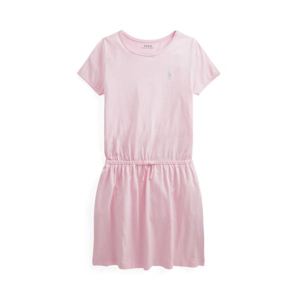 폴로 랄프로렌 Polo Ralph Lauren Cotton Jersey Tee Dress,카멜 Carmel Pink