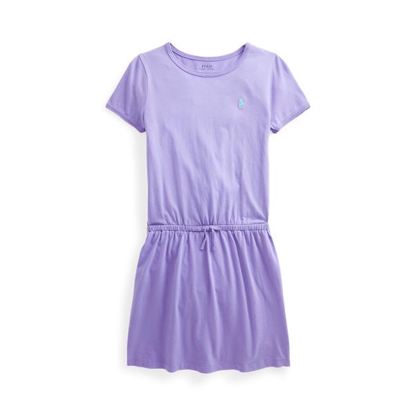 폴로 랄프로렌 Polo Ralph Lauren Cotton Jersey Tee Dress,Hampton Purple