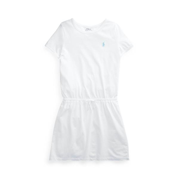 폴로 랄프로렌 Polo Ralph Lauren Cotton Jersey Tee Dress,White