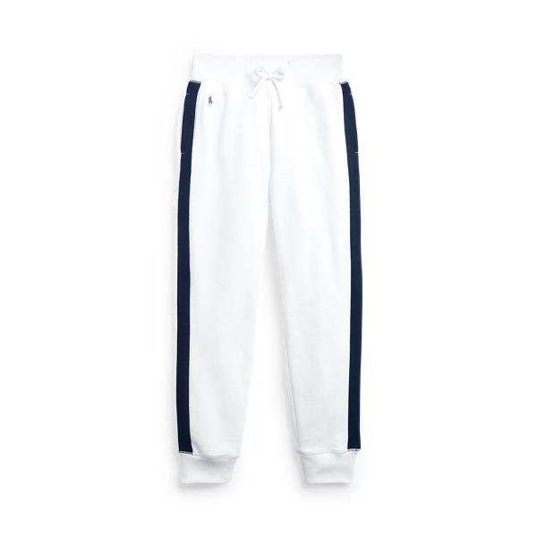 폴로 랄프로렌 Polo Ralph Lauren Cotton Blend Fleece Jogger,Pure White