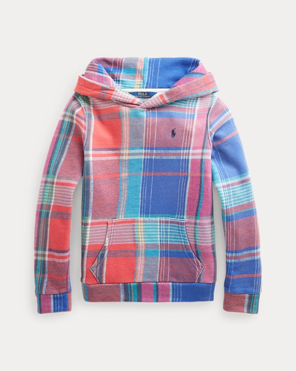 Plaid French Terry Hoodie
