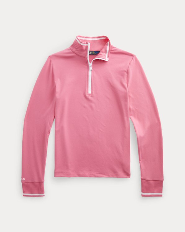 Performance Jersey Quarter-Zip Pullover
