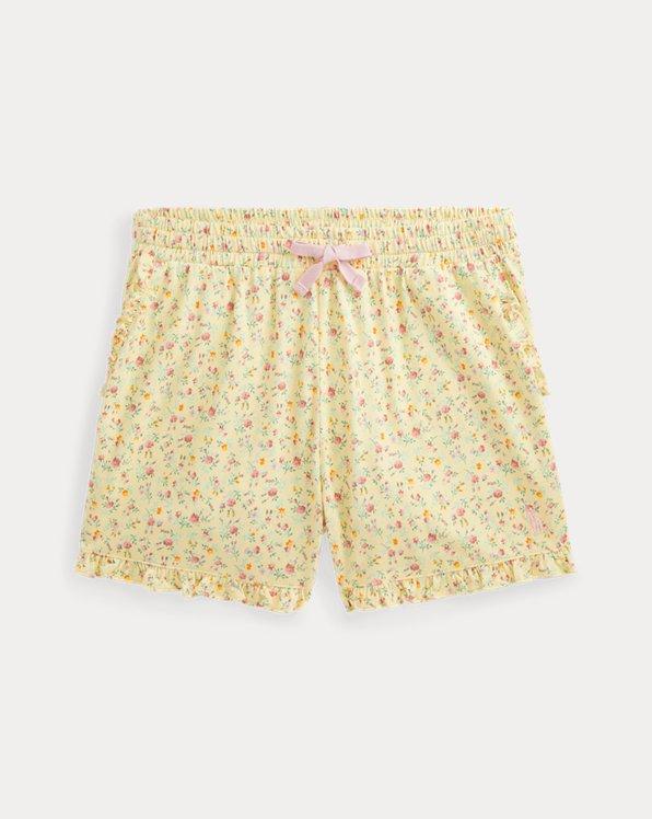 Floral Cotton Jersey Short