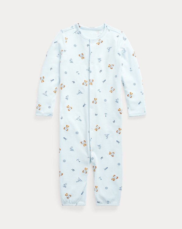 Polo Bear Convertible Gown Coverall
